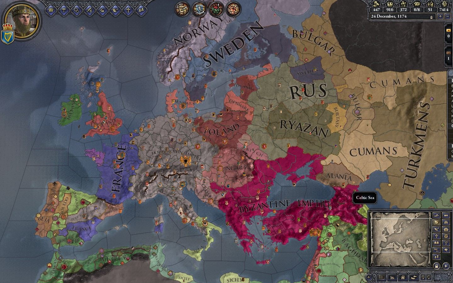 Crusader Kings: A Tale Of Two Players. | The Scientific Gamer