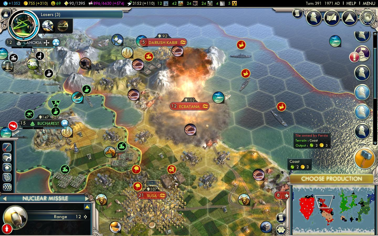 how to change resources in civ 5